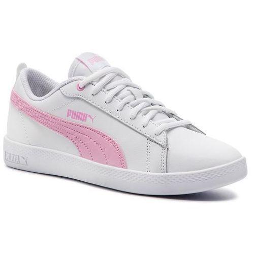 Sneakersy PUMA Smash Wns V2 L 365208 10 WhitePalePink