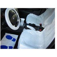 Foliowy zestaw ochronny do zabezpieczenia wnętrza samochodu