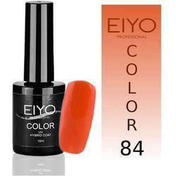 Lakier hybrydowy EIYO Crazy - kolor nr 84 - Ciemny Pomarańczowy - 15 ml Lakiery hybrydowe