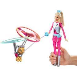 Barbie, Barbie i latający kotek, lalka Superbohaterka Darmowa dostawa do sklepów SMYK