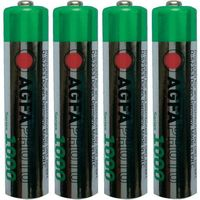 Zestaw 4 akumulatorów NiMH AgfaPhoto AAA, 1,2V, 1000 mAh