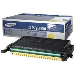 Toner Oryginalny CLP-Y600A Żółty do Samsung CLP-650 - DARMOWA DOSTAWA w 24h