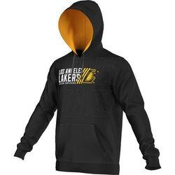 Bluza adidas Basics Po Hoody Los Angeles Lakers M AJ1813