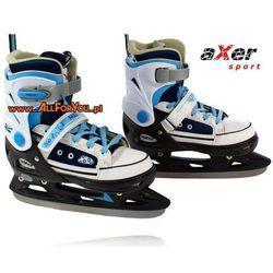 Łyżwy hokejowe regulowane Axer Mell