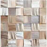 Panele drewniane Jatoba – Kostka łupana 3d *022 - Natural Wood Panel