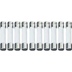 Bezpiecznik 6.3 mm x 32 mm 10 A 250 V/AC Szybki -F- ESKA 632027 Zawartość 100 szt.