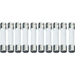 Bezpiecznik 6.3 mm x 32 mm 4 A 150 V/AC Szybki -F- ESKA 632623 Zawartość 100 szt.