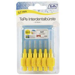 Tepe szczoteczka międzyzębowa 0,7mm żółta 6 szt.