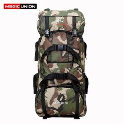 2016 Hot Sale Men Women Unisex Outdoor Military Tactical Backpack Camping Hiking Bag Trekking Sport Rucksacks 90L Wholesale