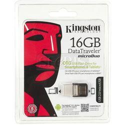 Pendrive Kingston Microduo USB 2.0 DTDUO 16GB - DTDUO/16GB