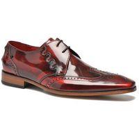 promocje - 30% Buty sznurowane Jeffery West Muse SCARFACE JA10 Męskie Czerwone 100 dni na zwrot lub wymianę