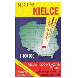 Kielce Świętokrzyski Park Narodowy mapa 1:100 000 WZKart (opr. miękka)