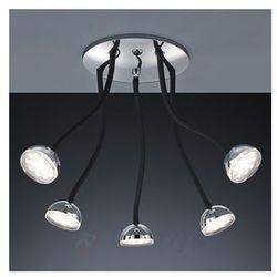 Pięciopunktowa lampa sufitowa LED Tobin