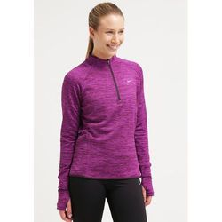 Nike Performance ELEMENT SPHERE Bluzka z długim rękawem noble purple/heather