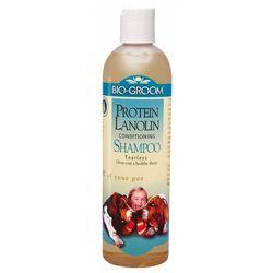 Bio-Groom Protein Lanolin - Odżywczy szampon na bazie olejku kokosowego dla psów długowłosych