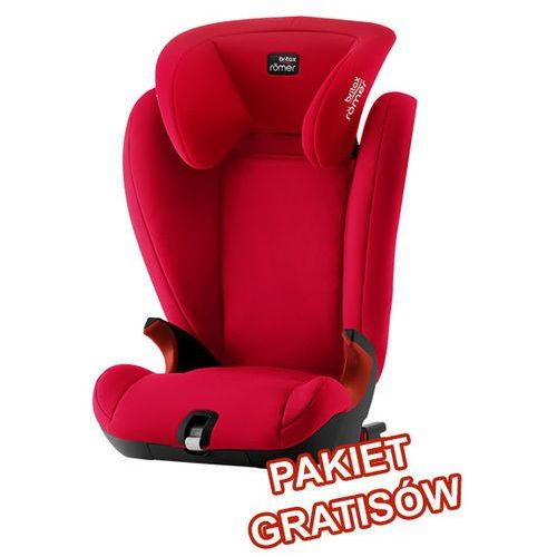 Britax Romer Kidfix SL Fire Red Black Series >>> pakiet gratisów <<< wys 24H, serwis door to door, HOLOGRAM