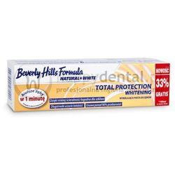 BEVERLY HILLS NATURAL WHITE Total Protection Whitening 75+25ml - wybielająca pasta do zębów zapewniająca kompleksową ochronę jamy ustnej - NOWOŚĆ