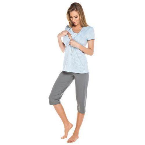 dc0d527e231d05 Piżama dla kobiet w ciąży i karmiących piersią ITALIAN FASHION Felicita  niebieska