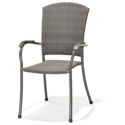 Krzesło ogrodowe Emelina gray