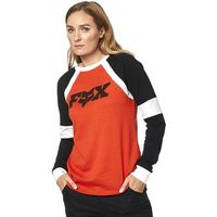 koszulka FOX - All Time Ls Top Atomic Orange (456) rozmiar: XS