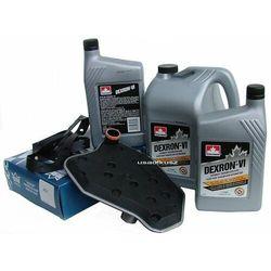 Olej Dextron ATF VI oraz filtr oleju automatycznej skrzyni biegów A4R70W Mercury Marauder