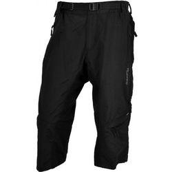 Męskie 3/4 MTB rowerowe spodnie Silvini Rango MP374 black