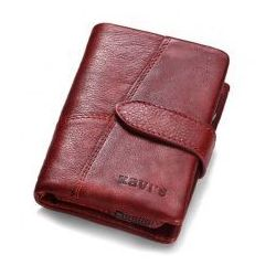 ed6562600aee5 portfele portmonetki skorzany portfel damski z kolorowa klapka ...