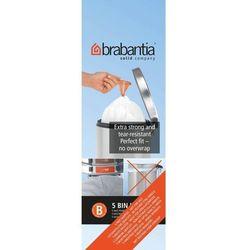 Brabantia - Worki na śmieci - Rozmiar B – 5L - 20 szt