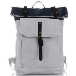 22914276e43d4 Uniwersalne i Solidne Plecaki Damskie z możliwością powiększenia marki  Diana&Co Szare (kolory)