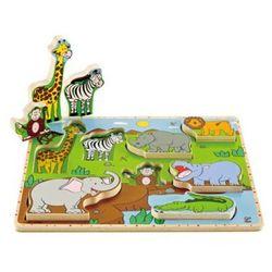 HAPE Puzzle Zwierzęta z dżungli