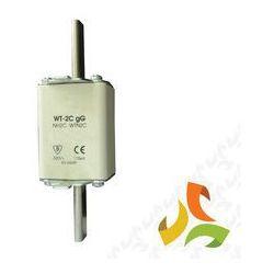 Wkładka topikowa zwłoczna gg WT-2C 100A, bezpiecznik przemysłowy ETI