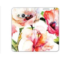 Flex Book Fantastic - Samsung Galaxy Trend 2 Lite - pokrowiec na telefon - flowers
