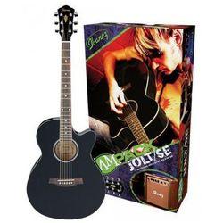 Gitara elektroakustyczna Ibanez AEG5EJPU-BKN
