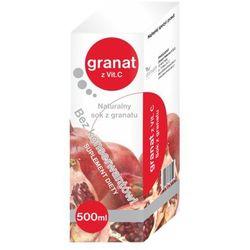 Granat z witaminą C naturalny sok 1000ml
