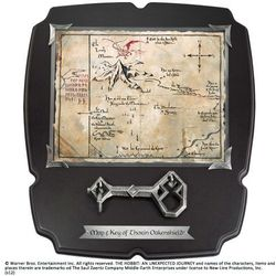 Klucz i Mapa Thorina z filmu Hobbit - Deluxe - Noble Collection (NN1212)