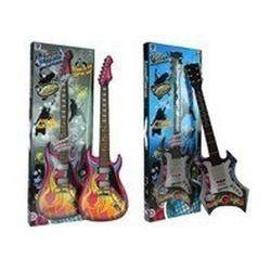 Gitara elektryczna różowa