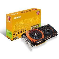 Karta graficzna MSI GeForce GTX 980 Ti GAMING GOLDEN, 6GB GDDR5 (384 Bit), HDMI, DVI, 3xDP - GTX 980Ti GAMING 6G GOLDEN