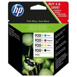 Zestaw tuszy HP 920XL / C2N92AE CMYK do drukarek (Oryginalny) [16 ml] - 4 szt.