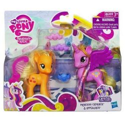 Zestaw My little Pony Princess Cadance, Applejack A2658
