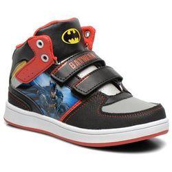 promocje - 10% Tenisówki i trampki Batman Bat Mastrich Dziecięce Czarne 100 dni na zwrot lub wymianę