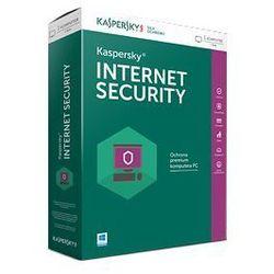 Kaspersky Internet Security 2016 multi-device 3 urządzenia na 1 rok elektroniczna kontynuacja