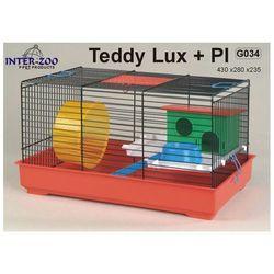 Inter-Zoo klatka dla chomika Teddy Lux z wyposażeniem