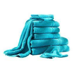 Komplet ręczników (10 części) bonprix turkusowy
