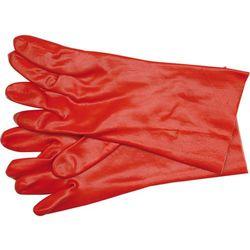 Rękawice gumowane czerwone 10cal Vorel