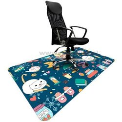 Mata ochronna ze wzorem 054 - pod krzesło - 120x180cm - grubość 1,3mm