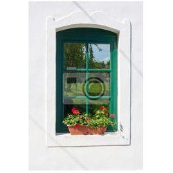 Fototapeta Okno z geranium