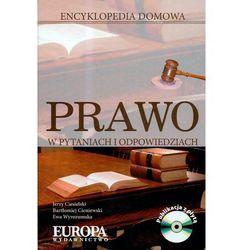Prawo w pytaniach i odpowiedziach Encyklopedia domowa z płytą CD (opr. twarda)