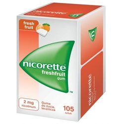 Nicorette FreshFruit Gum guma do żucia lecz. 2 mg 105 szt.