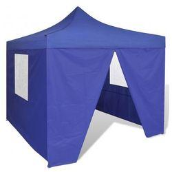 Namiot ogrodowy pawilon 3 x 3 m niebieski Zapisz się do naszego Newslettera i odbierz voucher 20 PLN na zakupy w VidaXL!