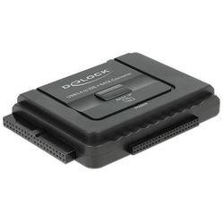 Delock Adapter USB 3.0->SATA/IDE 40/44PIN+Backup DARMOWA DOSTAWA DO 400 SALONÓW !!